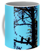 Three Crows In A Tree Coffee Mug