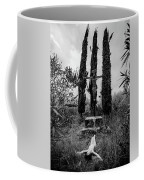Three Cypresses Coffee Mug