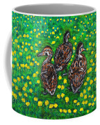 Three Ducklings Coffee Mug