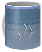 three Egrets Coffee Mug