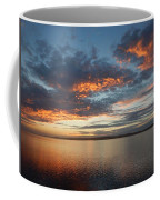 Three Fiery Clouds Coffee Mug