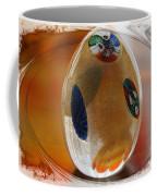 Three Fiori Murano Coffee Mug