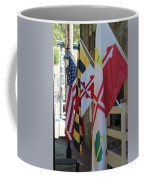 Three Flags Coffee Mug