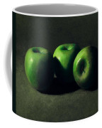 Three Green Apples Coffee Mug