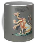 Three Headed Monster, 18th Century Coffee Mug