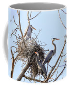 Three Herons Coffee Mug