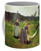 Three Ladies Washing Coffee Mug