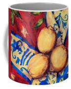 Three Lemons Coffee Mug