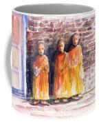 Three Little Monks Coffee Mug