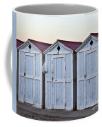 Three Modello Beach Cabanas Coffee Mug