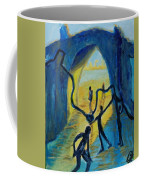 Three Moments. Second Moment Walking And Dancing Coffee Mug