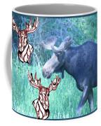 Three Moose Coffee Mug
