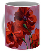 Three Oriental Poppies Coffee Mug