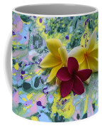 Three Plumeria Flowers Coffee Mug