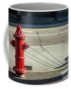 Three Red Lines Coffee Mug