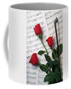 Three Red Roses  Coffee Mug by Garry Gay