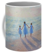 Three Sisters Beach Coffee Mug