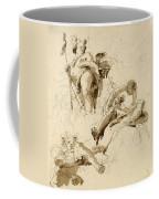 Three Studies Of The God Bacchus Coffee Mug