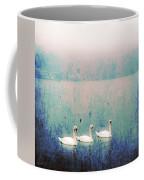 Three Swans Coffee Mug by Joana Kruse