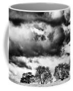 Three Tree Tops Landscape Coffee Mug