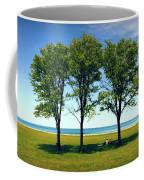 Three Trees Lake Shore Coffee Mug