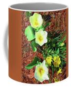 Three White Tulips Painting Coffee Mug