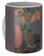 Three Women On The Seashore Coffee Mug by Paul Gauguin