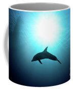 three year old Dolphin  Coffee Mug by Hagai Nativ