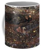 Threefin Blennie Like Fish On Log Coffee Mug