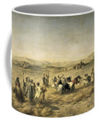 Threshing Wheat In Algeria Coffee Mug