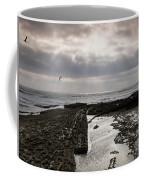 Throne Of Seagulls Coffee Mug