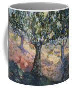 Through Ancient Olives Coffee Mug