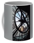 Through The Clock Coffee Mug