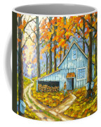 Through The Deep Woods Coffee Mug