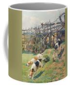 Through The Fence Coffee Mug by Arthur Charles Dodd