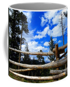 Through The Fence Coffee Mug