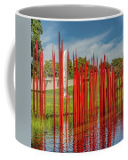 Through The Glass Rods Coffee Mug