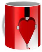 Through The Heart Coffee Mug