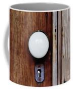 Through The Keyhole Coffee Mug