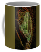 Through The Knothole Coffee Mug