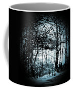 Through The Lens-blue Coffee Mug