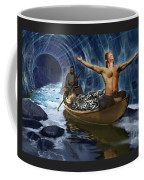 Through The Rapids Coffee Mug
