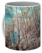 Through The Trees In Infrared Coffee Mug