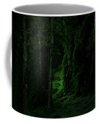 Through The Woods Dark And Deep Coffee Mug