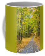 Through Yellow Woods 2 Coffee Mug