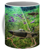 Thuds Over Vietnam Oil Coffee Mug