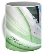 Thunderbird Abstract In Mint And White Coffee Mug