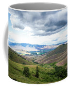 Thunderclouds Over The Hills Coffee Mug