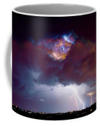 Lightning Thunderstorm Over Dacono Coffee Mug
