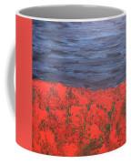 Thunderstorm Over The Poppy Field Coffee Mug